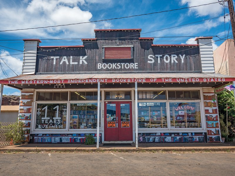 Talk Story Bookstore in Hanepepe