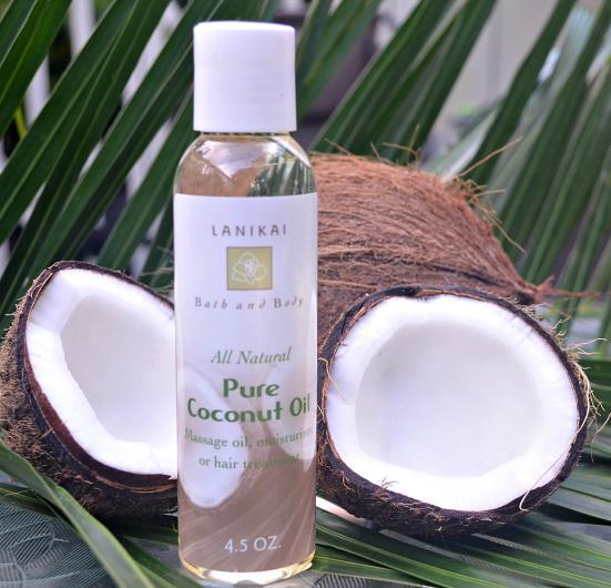 lanikai bath and body coconut oil