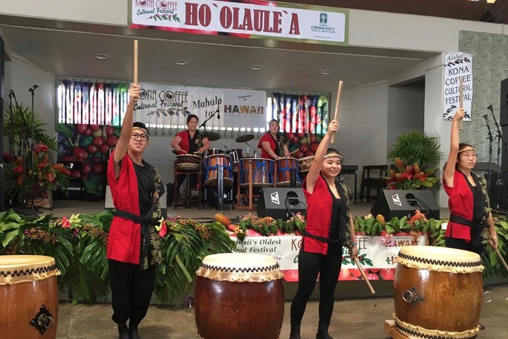hoolaulea-taiko-drummers