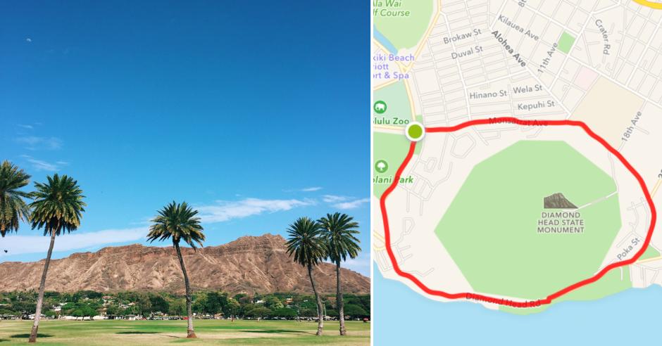 waikiki running routes