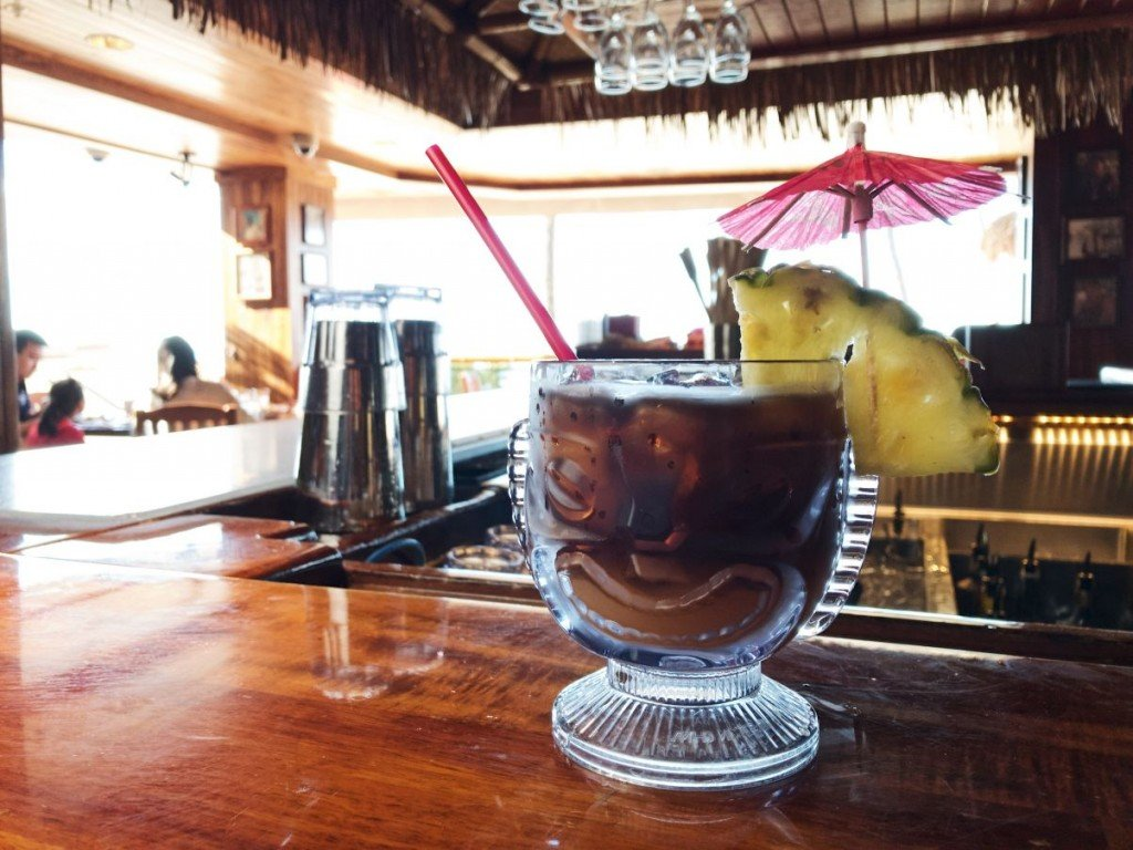 signature mai tai from Duke's Waikīkī