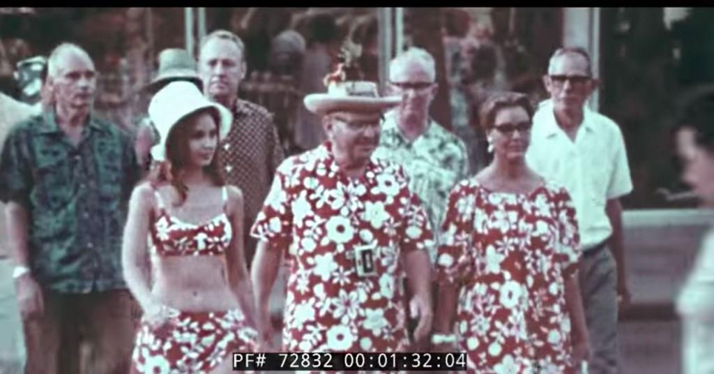 vintage hawaii travelogue