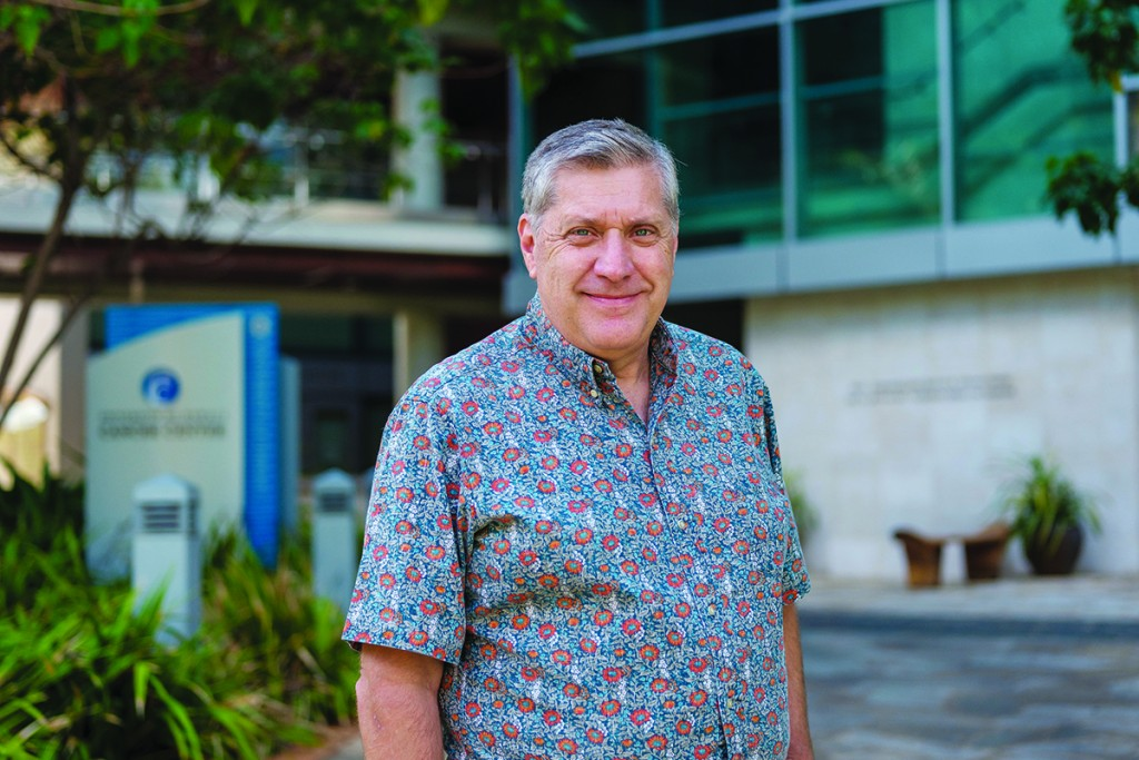 Dr. Randy Holcombe, Program Director, University of Hawai'i Cancer Center