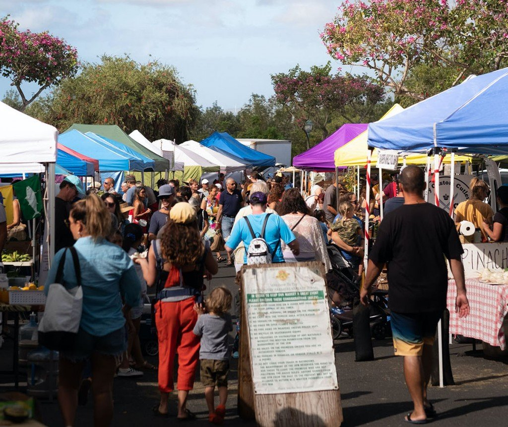 Upcountry Farmers Market on Maui opening