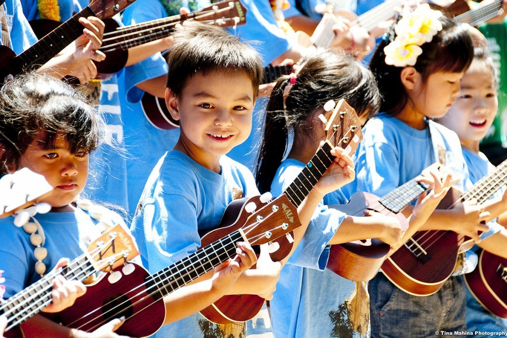 Ukulele Festival Hawaii.photo Tina Mahina Courtesy Ukulele Festi