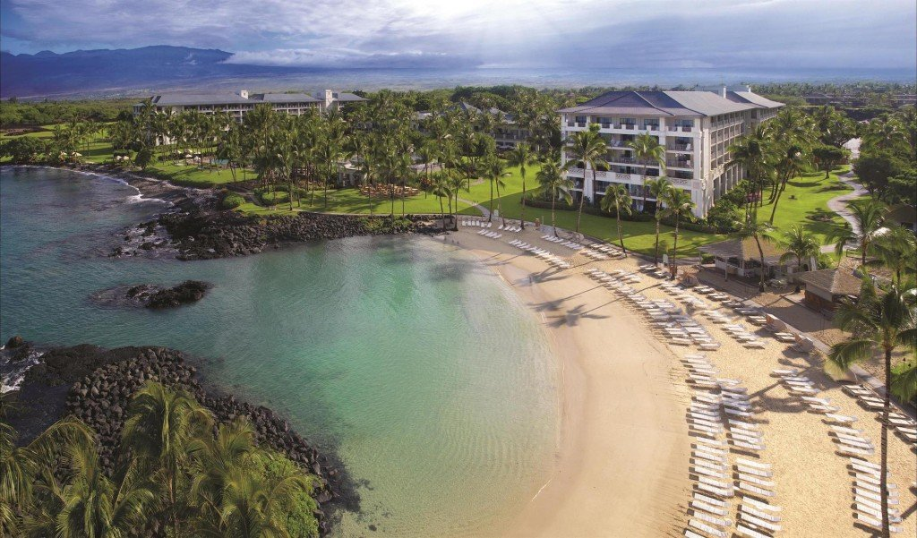 Fairmont Orchid Aerial View