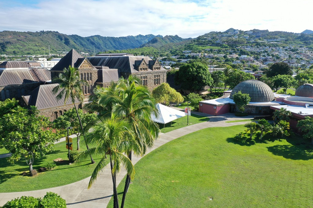 Outdoor Campus Drone Hawaihall3 1024x683