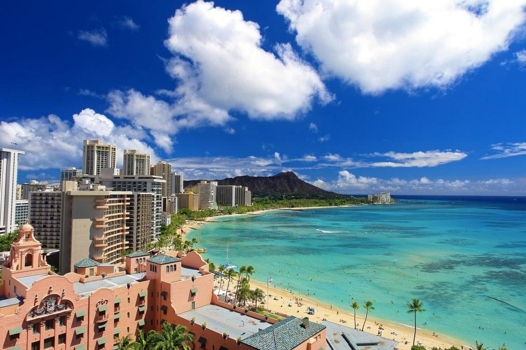 Landscape In Hawaii Resort