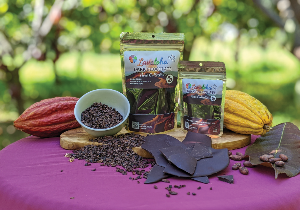 Lavaloha chocolate