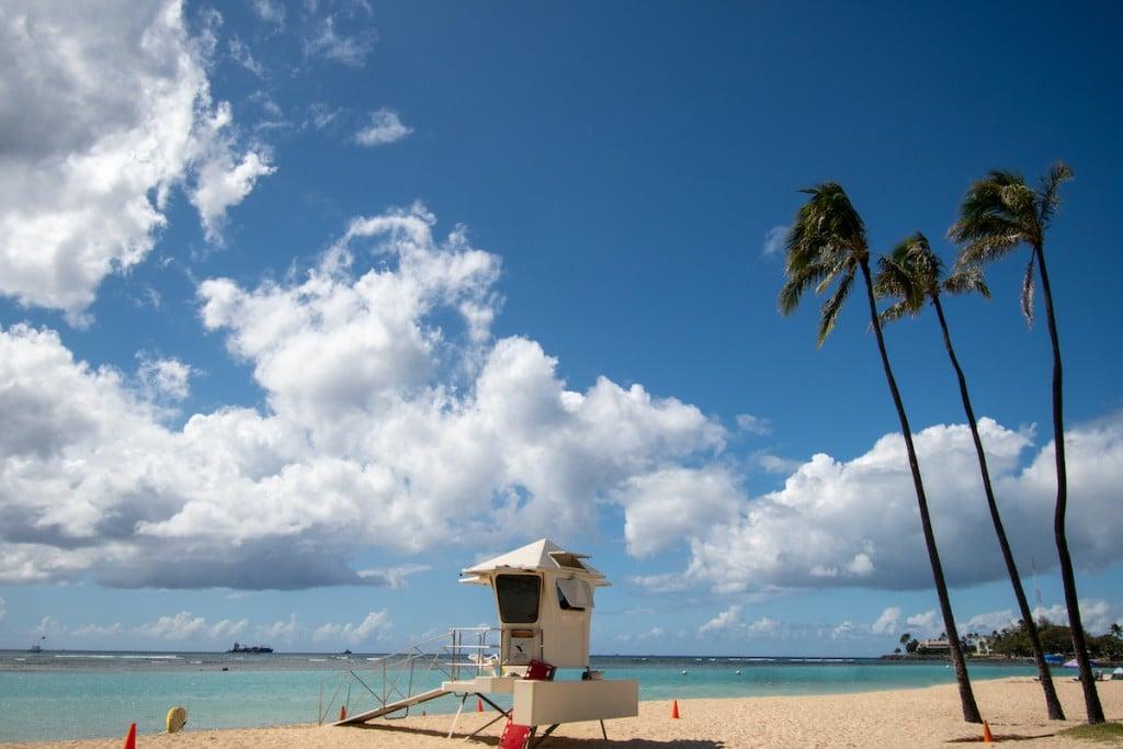 Lifeguards Observation Post