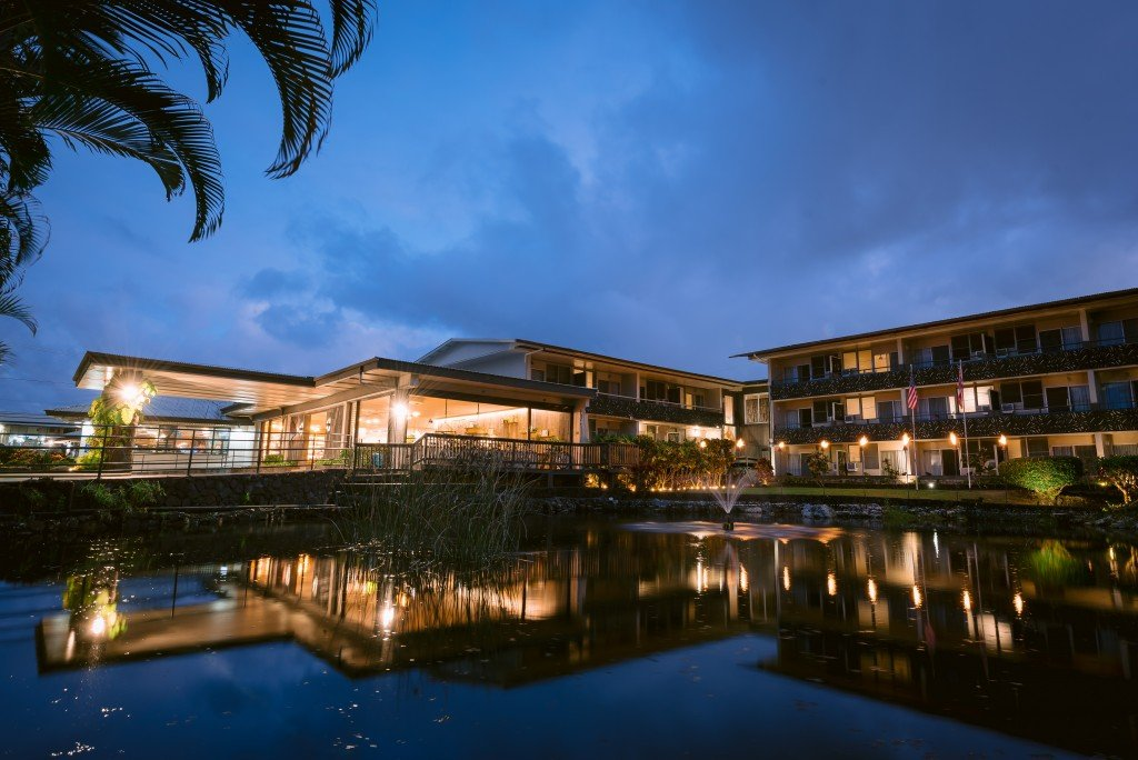 Koi Pond at SCP Hilo Hotel