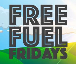 Hits Free Fuel Fridays 300x250