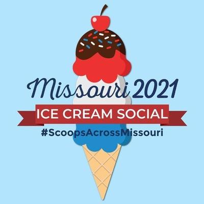 Bicentennial Ice Cream Social Logo