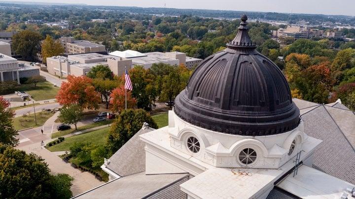 2020 Academic Hall Aerial