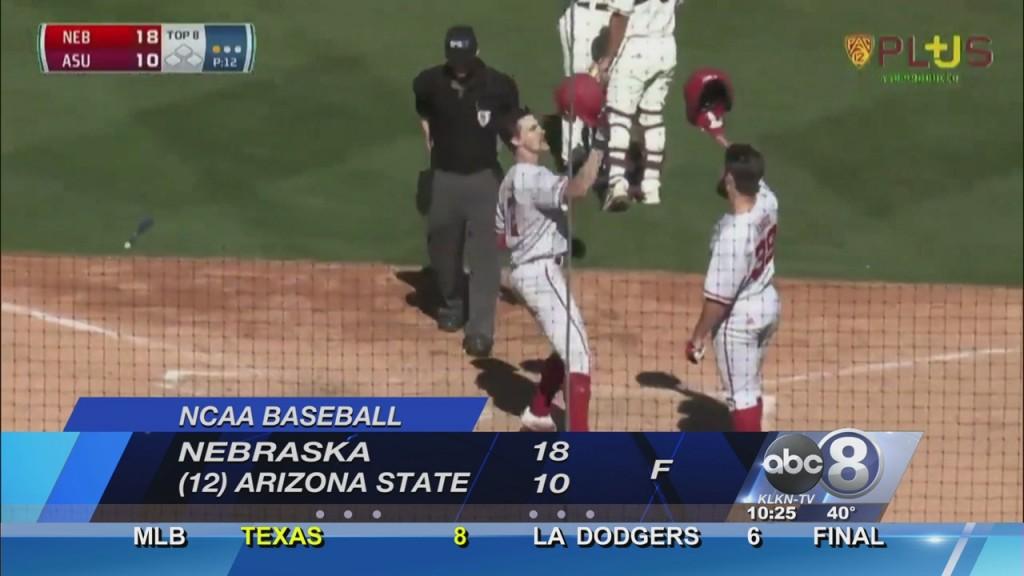 Nebraska Blasts Five Homers In Rout Of No. 12 Arizona State