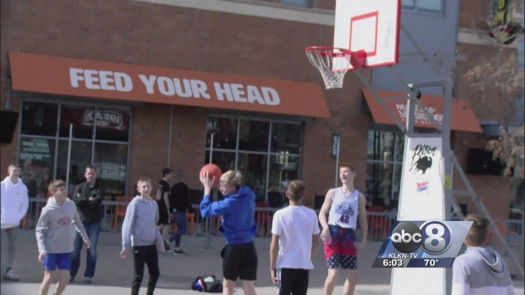People In Town For State Basketball Talk About Coronavirus
