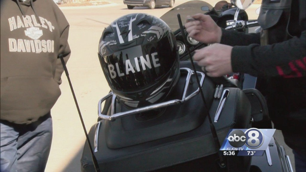 Motorcyclists Come Together To Honor Blaine Who Was Killed