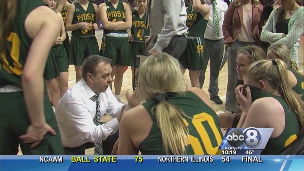 Girls State Basketball: Semifinal Friday Part 1