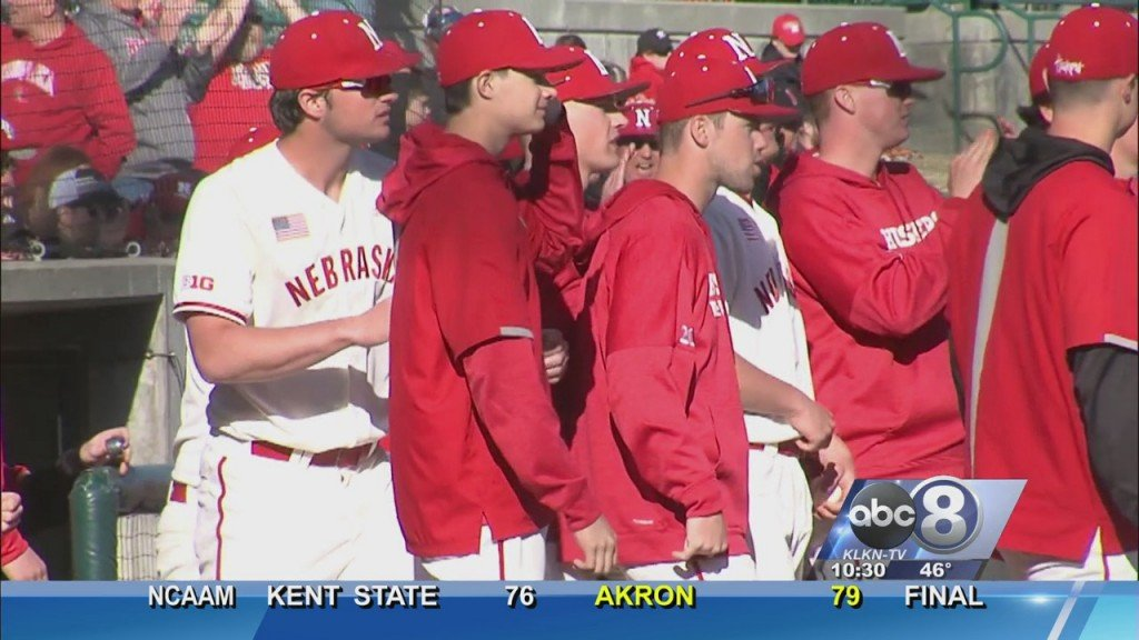 Husker Baseball Beats Columbia In Home Opener