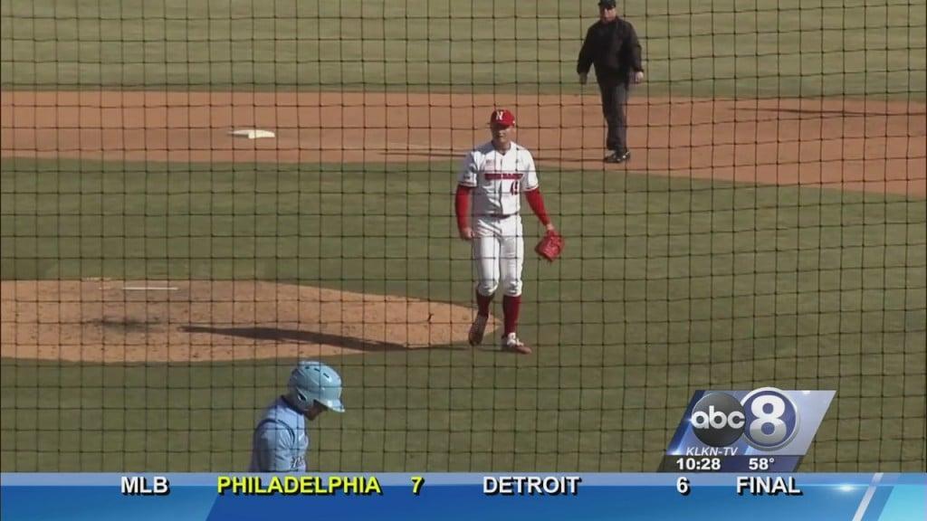 Husker Baseball Splits Doubleheader With Columbia