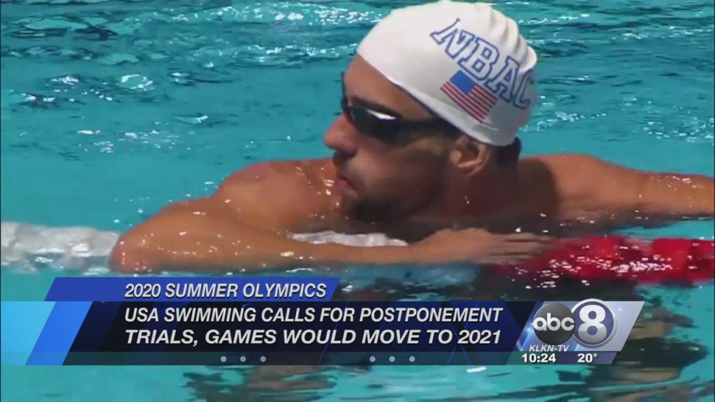 Usa Swimming Calls For Olympics To Postpone