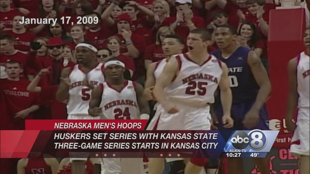 Husker Hoops Schedules Series With Kansas State