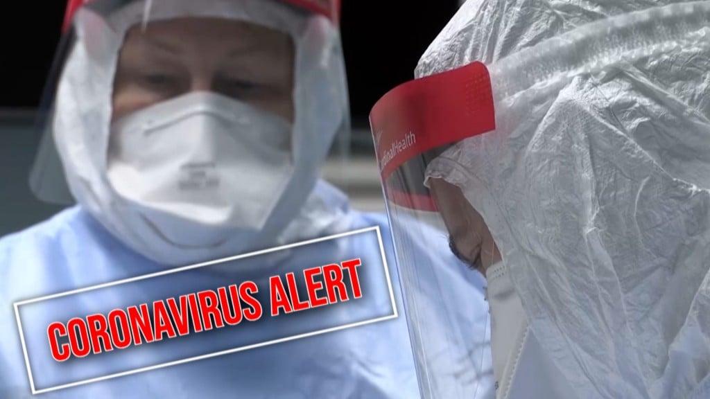 Coronavirus Alert Gfx