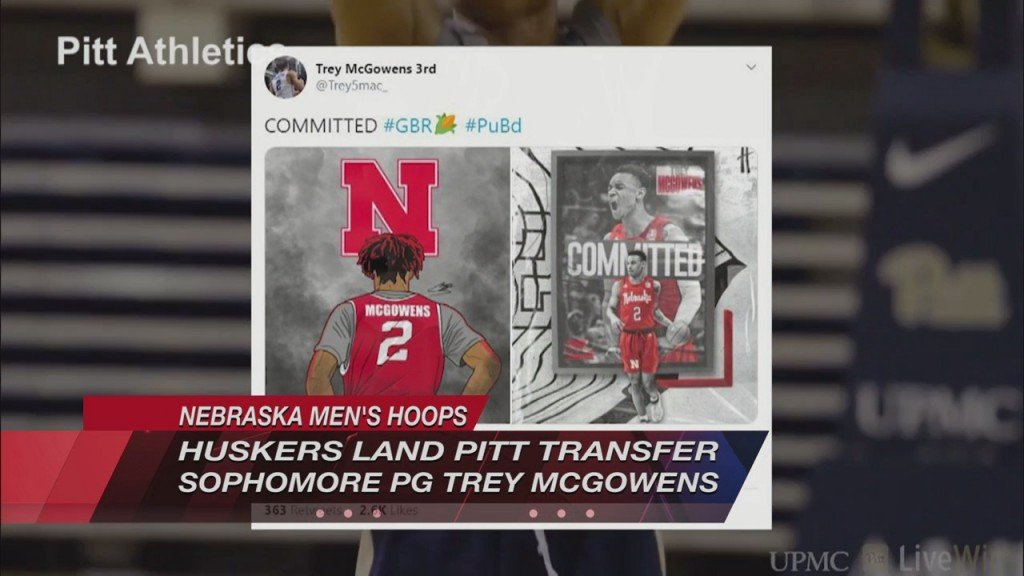 Huskers Land Pitt Transfer Point Guard