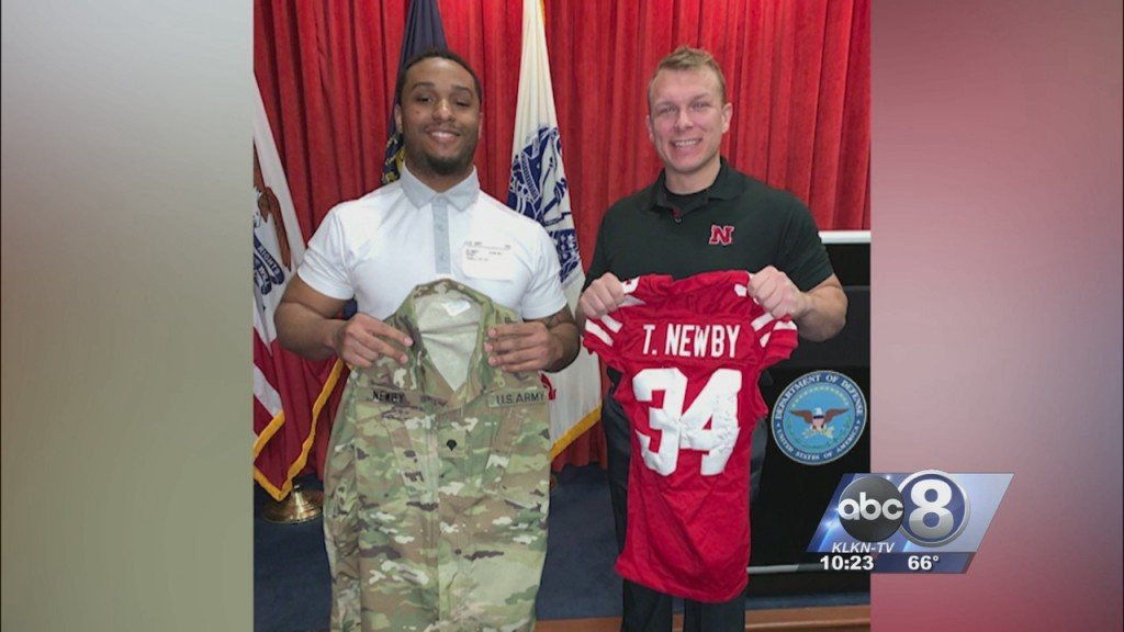 Former Husker Terrell Newby Enlists In Army National Guard