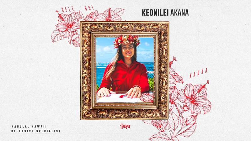 Keonilei Akana Signed