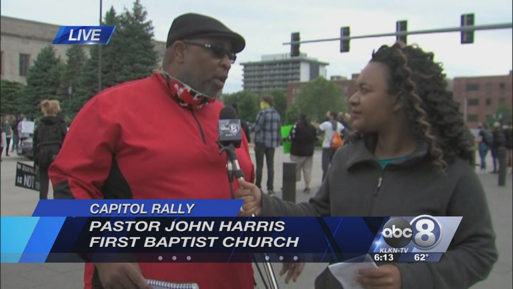 Pastor Speaks On Planned Rally At State Capitol