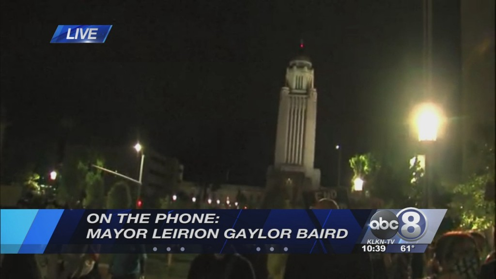 On The Phone With Lincoln Mayor Leirion Gaylor Baird Amid Protests