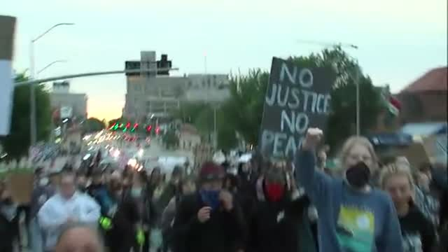 Happening Now: Protests Continue Down O Street