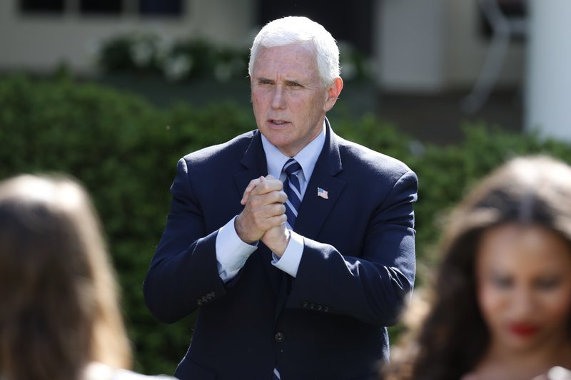 Mike Pence Ap Alex Brandon