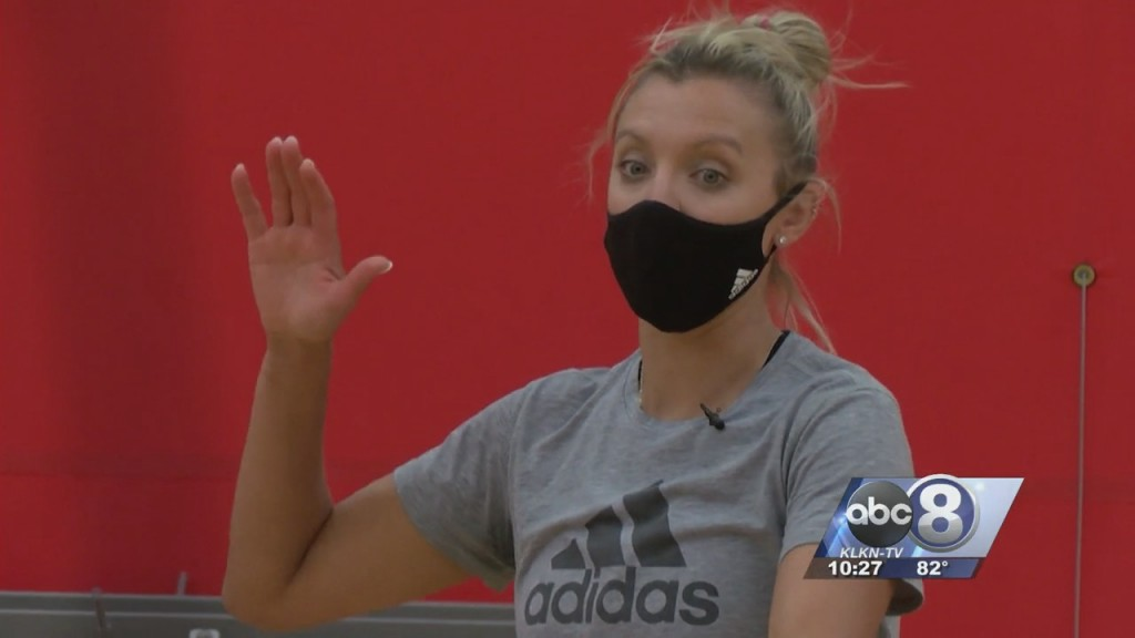 Mic'd Up: Former Husker Jordan Larson Interacts With Youth Volleyball Campers