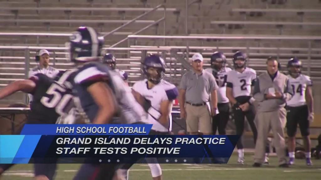 Grand Island Delays Football Practice