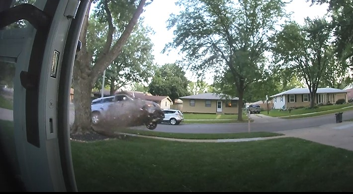 Ring Video Catches Tuesday Night Crash
