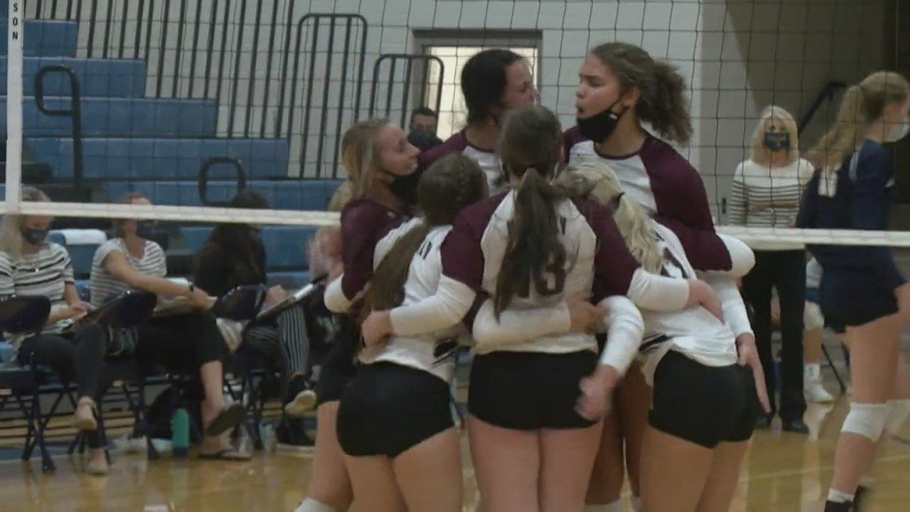High School Volleyball 8/27