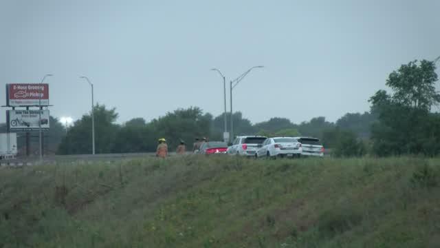Pick Up Truck Rolled Near Salt Creek Rd.