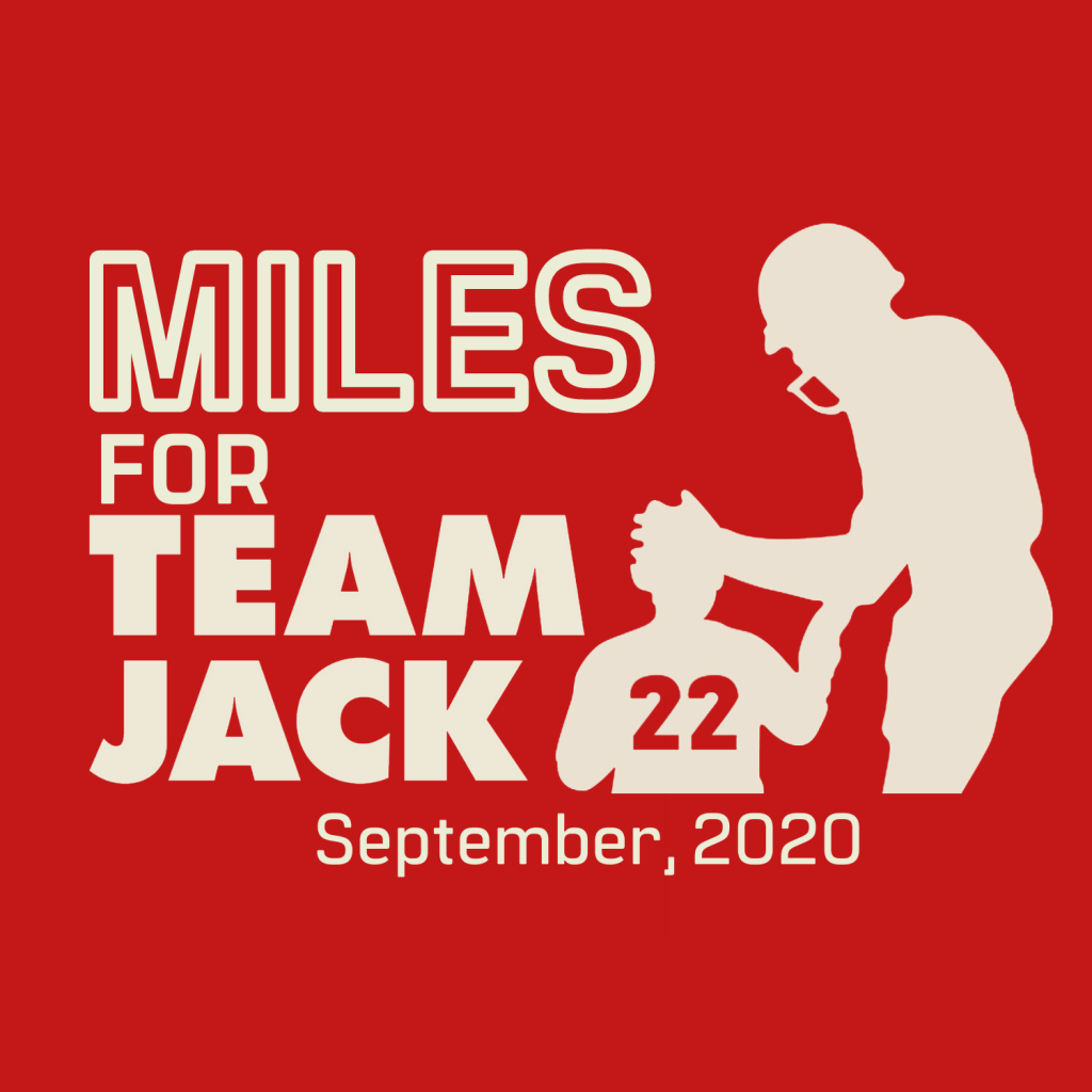 Copy Of Copy Of Copy Of Miles For Team Jack Logo