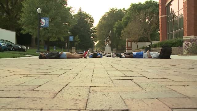 Creighton Students Hold 'die In' Demonstration