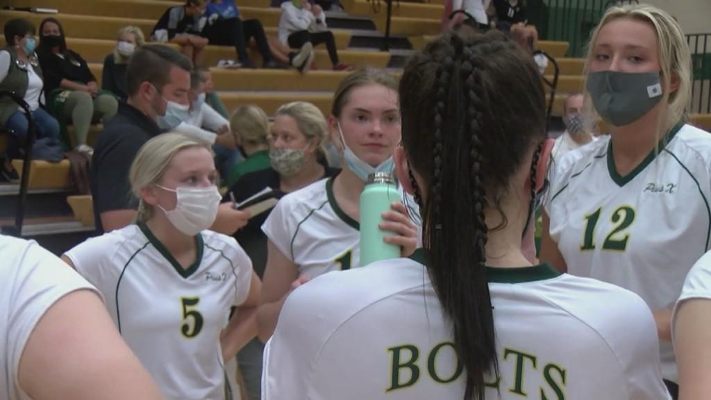 Highlights: High School Volleyball 9/8