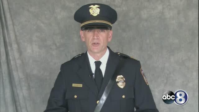 Lpd Chief Jeff Bliemeister Speaks At Herrera's Funeral