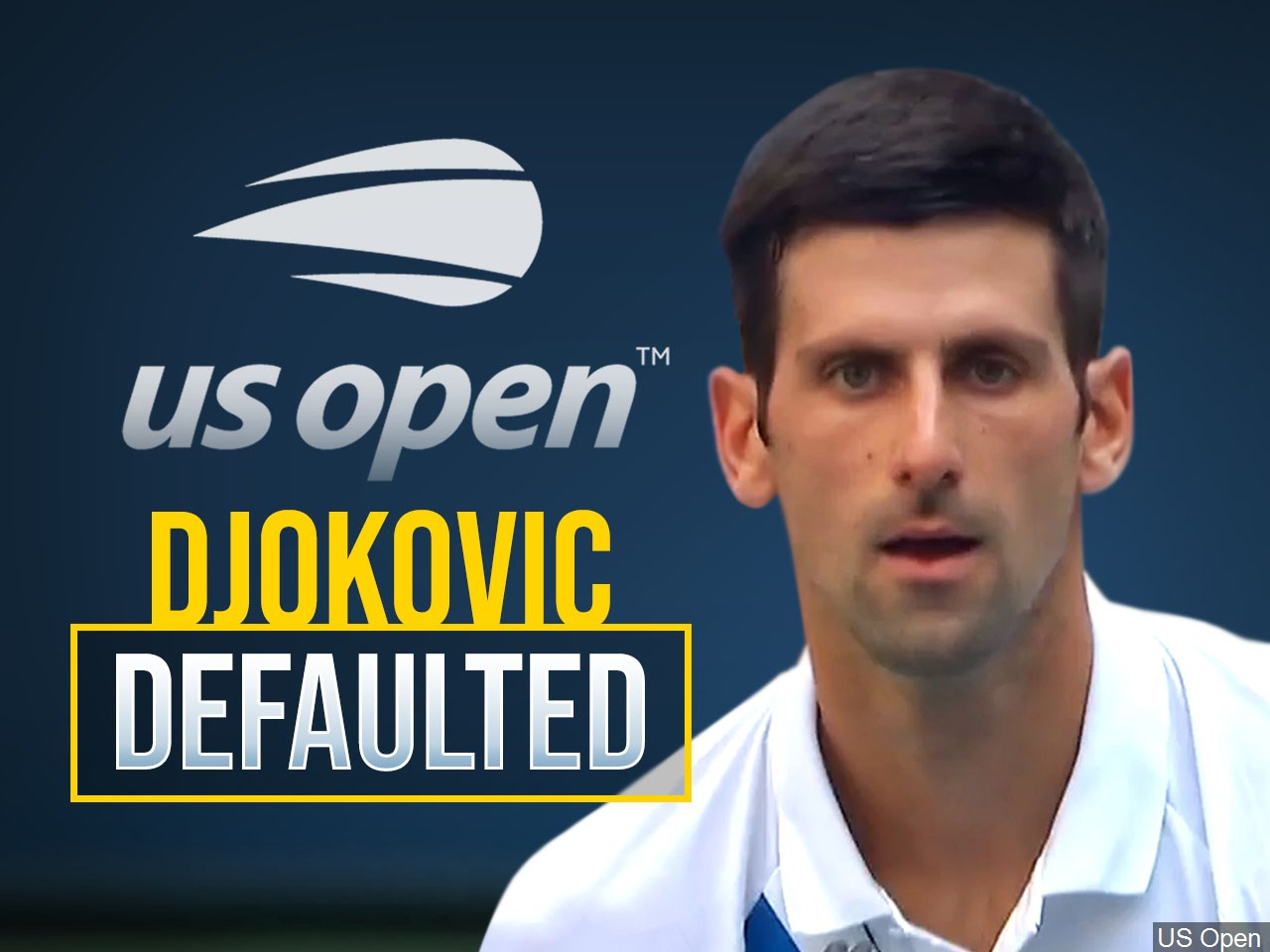 Novak Djokovic Defaults Us Open Match After Hitting Line Umpire With Ball Klkn Tv