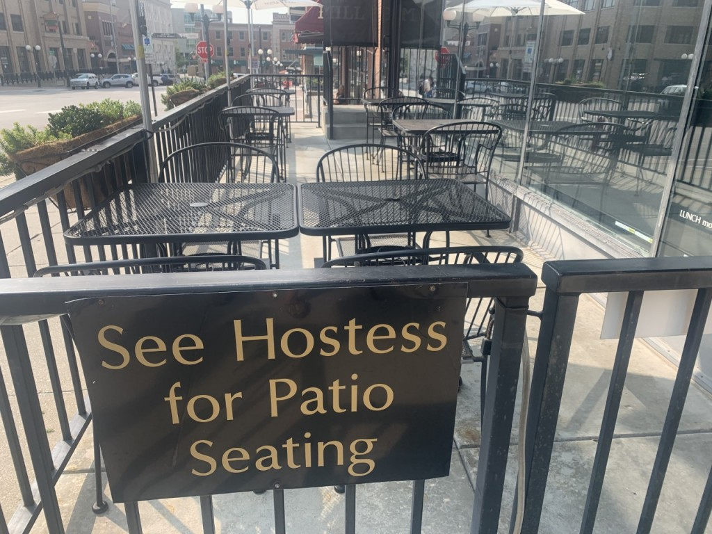 Outdoor Patio in Haymarket