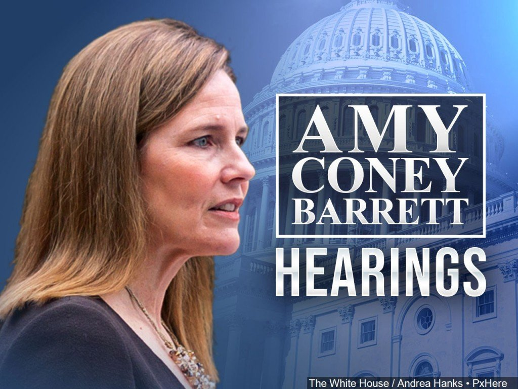 Supreme Court Nominee Amy Coney Barrett's Senate Committee hearing.