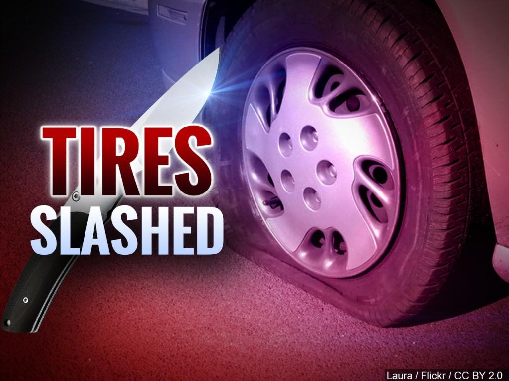 Tires Slashed