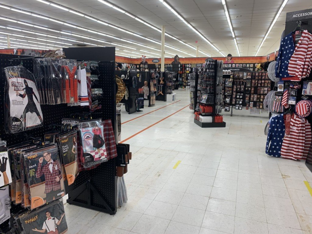 Halloween store sees spike in costume sales.