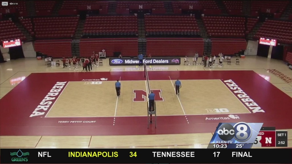 Husker Volleyball Hosts Red White Scrimmage