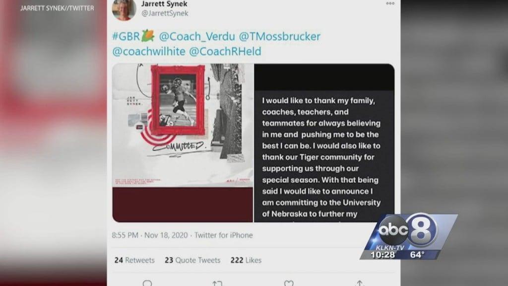 Jarrett Synek Commits To Nebraska